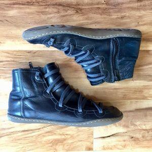 Camper Peu boot black 37